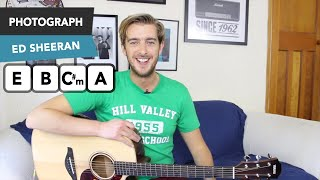 Photograph Ed Sheeran Guitar Tutorial - How To Play