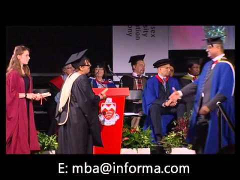 MBA in Shipping & Logistics by distance learning. 2012 Graduation Ceremony