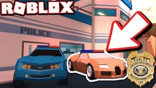 NEW BUGATTI POLICE CAR REVEALED!!! (Roblox Jailbreak)
