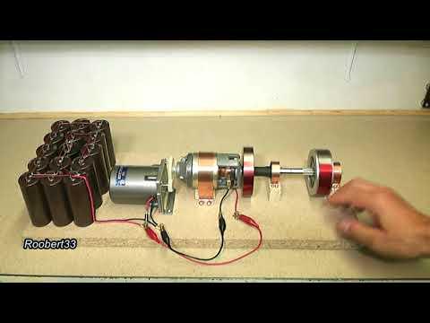 Motor Generator energy, TEST 1