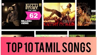 Top 10 latest tamil songs 2020 (8D Audio) | Best tamil music 2020