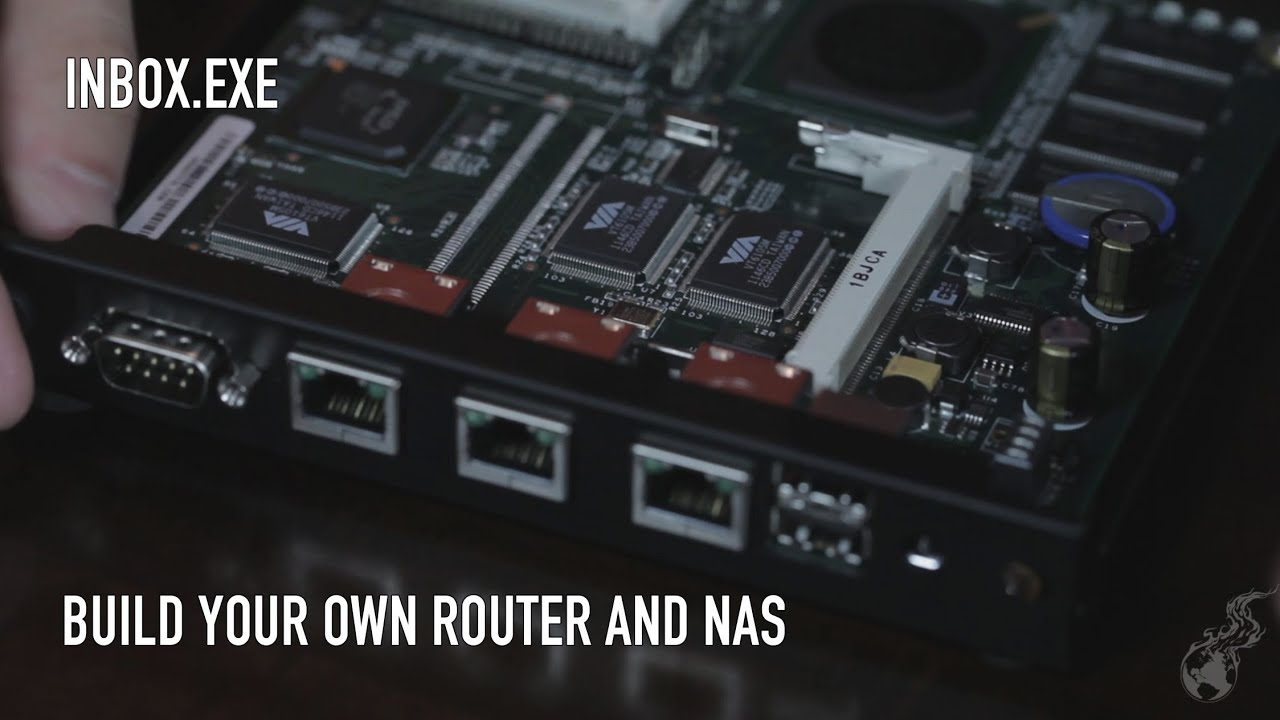 Inbox exe 0035 build your own router nas pfsense and for Build your own luxury home