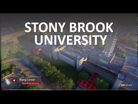 Stony Brook University From The Air - Aerial Drone Film Reel