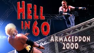60 Seconds in Hell - 6-Pack WWE Championship Match - Armageddon 2000