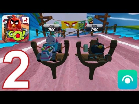 Angry Birds Go! 2.0 - Gameplay Walkthrough Part 2 - Campaign 2: Stella (iOS, Android)