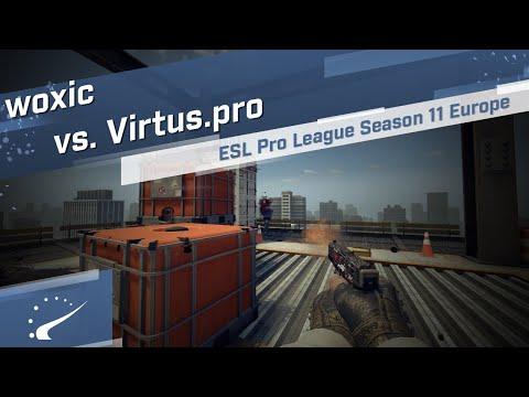 Woxic Vs. Virtus.pro - ESL Pro League Season 11 Europe
