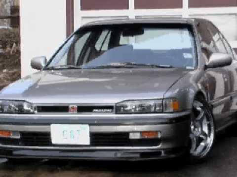 CB7 Tribute  1990 1991 1992 1993 Honda Accord  YouTube