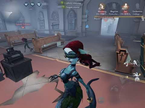 New Skin: The Siren | Dream Witch Gameplay | Identity V