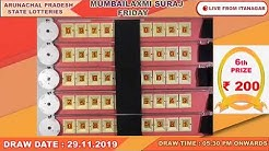 MUMBAILAXMI FRIDAY DRAW TIME : 05:30 PM ONWARDS DAT0E 29/11/2019
