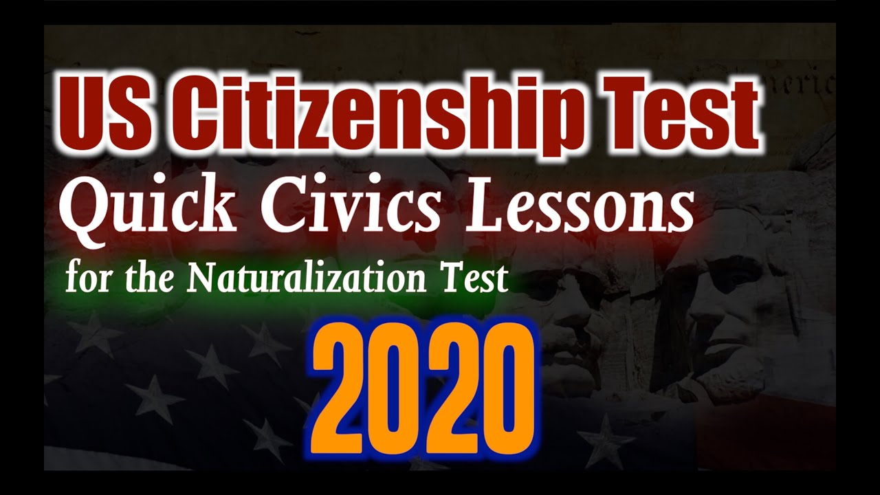 United States Citizenship Naturalization Test (CIVIC 100 ...
