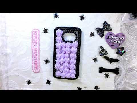 Spooky Purple Case By Kiyois Kustoms