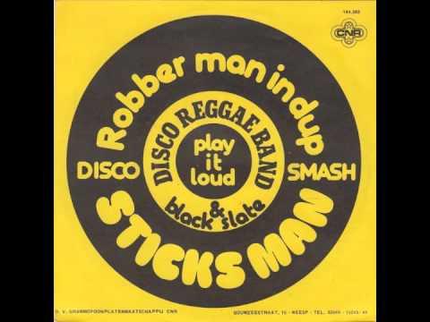 Disco Reggae Band Black Slate - Sticks Man