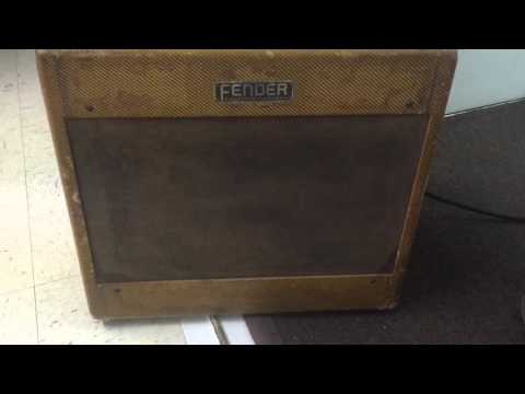 Vintage Fender Tweed 5B3 deluxe