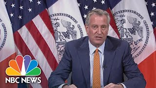 Mayor de Blasio Lifts Curfew As NYC Set To Begin Restart Phase 1 | NBC News