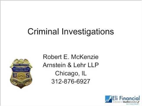 IRS Criminal Investigation