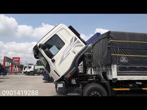 Daewoo 3 chân rút 15 tấn, thùng dài 9.2 mét| nhập 3 cục hàn quốc