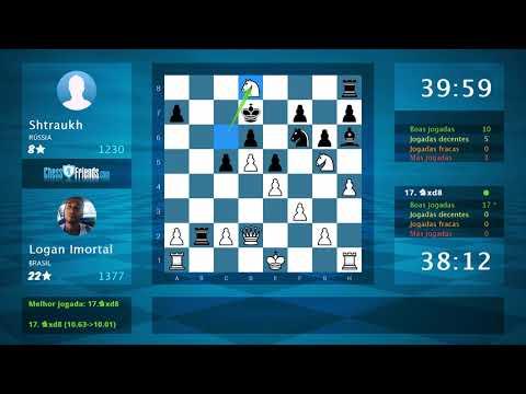 Chess Game Analysis: Logan Imortal - Shtraukh : 1-0 (By ChessFriends.com)