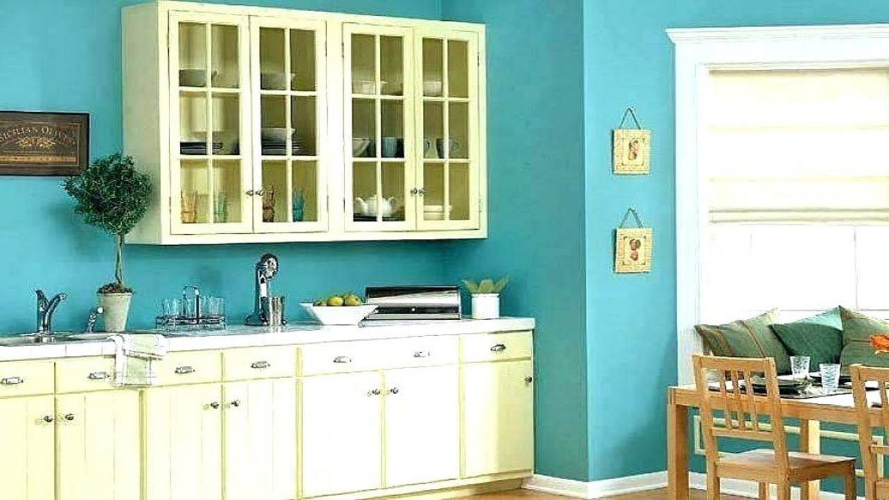 Best Paint Color For Kitchen Kitchen Paint Colours Wall Ideas Youtube