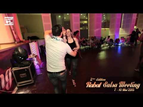 Tarik Semmar & Annabelle - salsa dancing @ RABAT SALSA MEETING