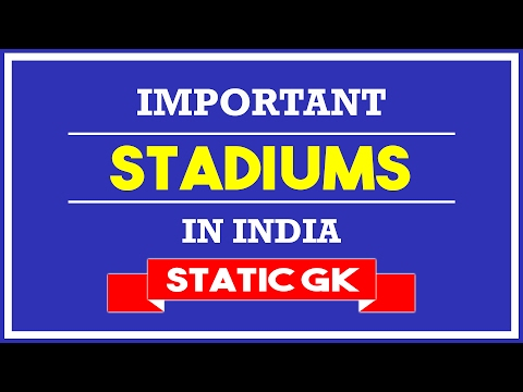 Important Stadiums In India | Static GK | Kartik Anand