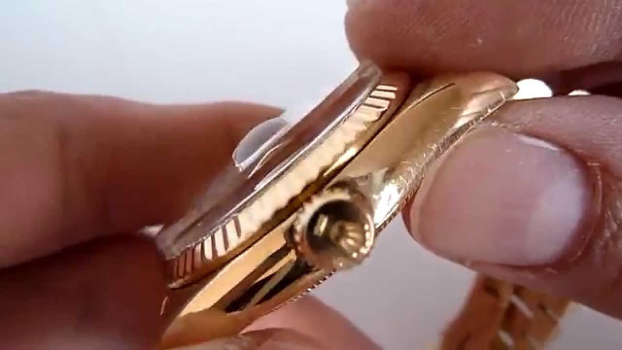Reloj Rolex Day Date Presidente De Oro De 18k Serie