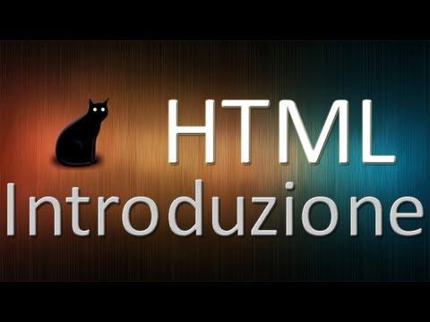 Tutorial HTML: Introduzione