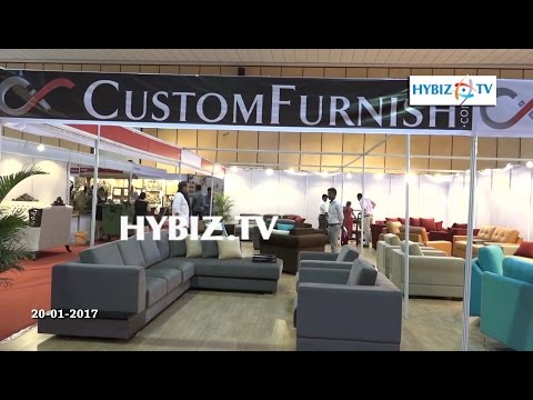 Custom Furnish | Hinshitsu Manufacturing | Furniture expo 2017 Hitex Hyderabad | hybiz