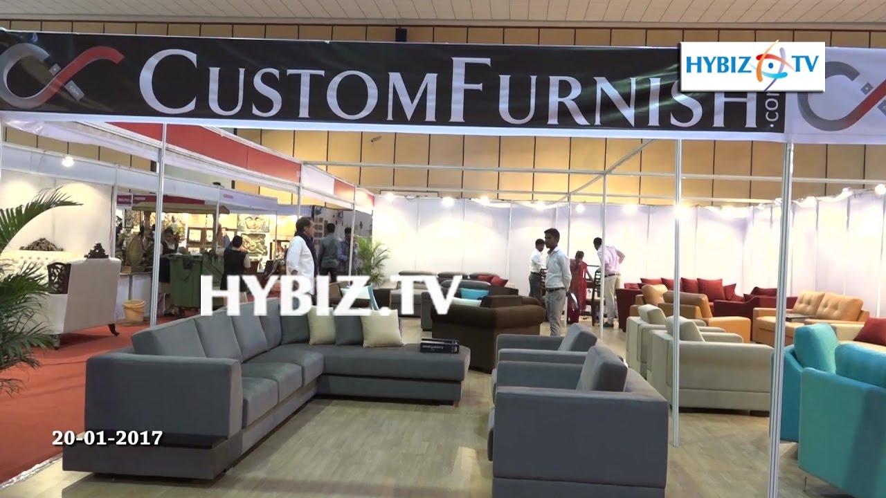 Custom Furnish Hinshitsu Manufacturing Furniture Expo 2017 Hitex Hyderabad Hybiz Youtube