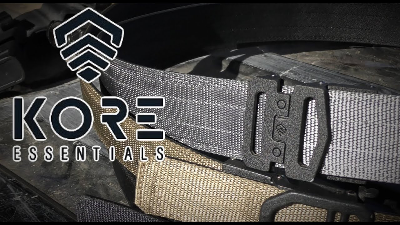 Kore Essentials Garrison Belt Youtube Kore men's belts offer 40+ sizing positions to adjust with for a perfect fit. youtube