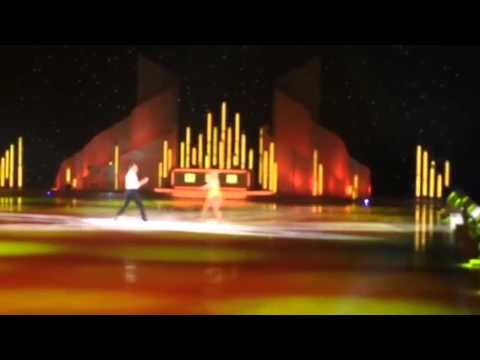 Alexandra and Lukasz dancing on ice final tour routine 2014