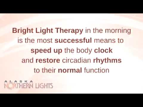Late Night Insomnia -- Light Therapy Tip