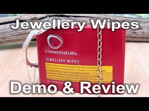 Connoisseurs jewellery wipes Demo & Review by Dave Wilson