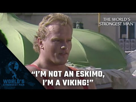 "The World's Strongest Man Classics: Jón Páll Sigmarsson 1985: ""I'm not an Eskimo, I'm a Viking!"""