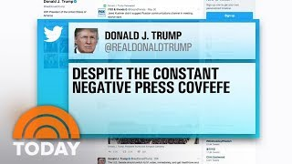 President Trump's Mystery 'Covfefe' Tweet Sparks Confusion | TODAY