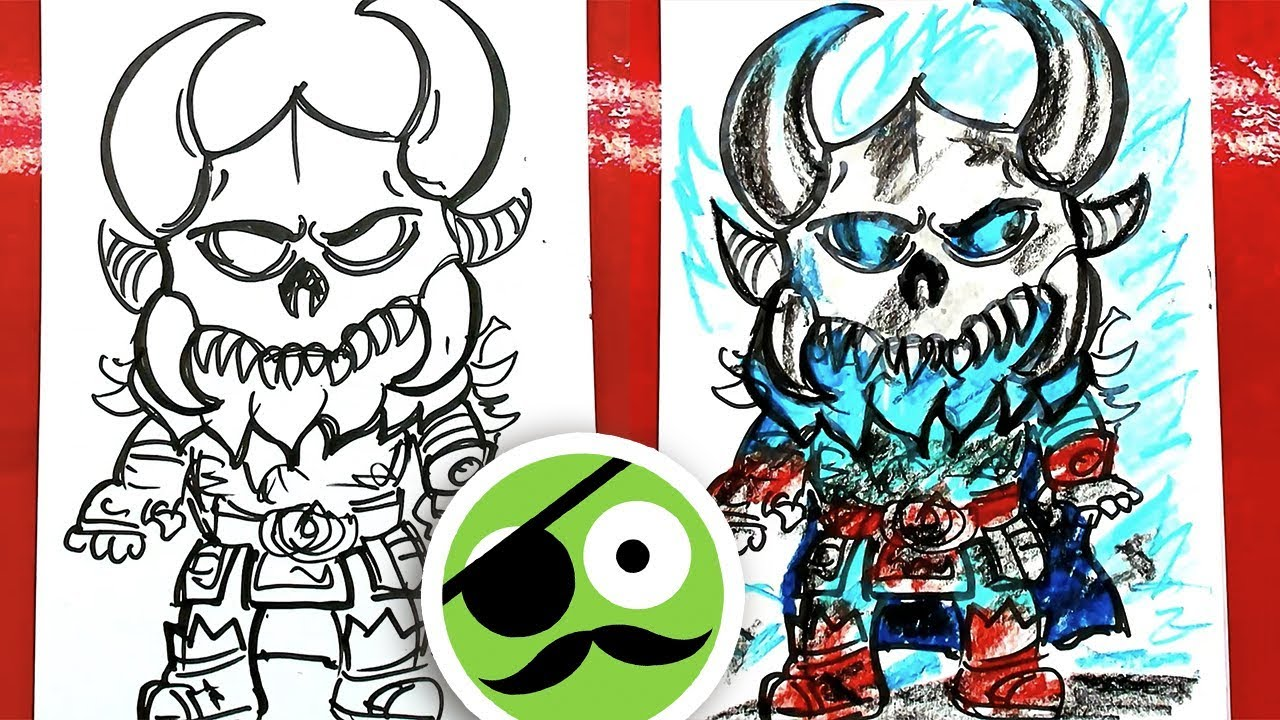 How To Draw Ragnarok Coloring Fortnite Art For Kids