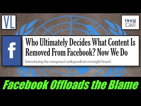 Facebook's Paying Someone Else To Take The Blame (VL219)
