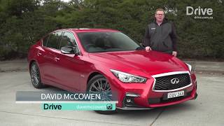 2018 Infiniti Q50 Red Sport video review