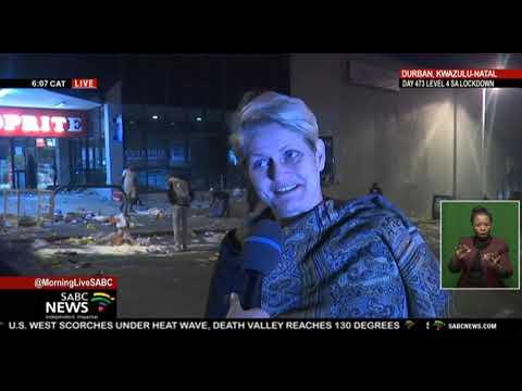 KZN Shutdown I  Latest on the situation in KwaZulu-Natal