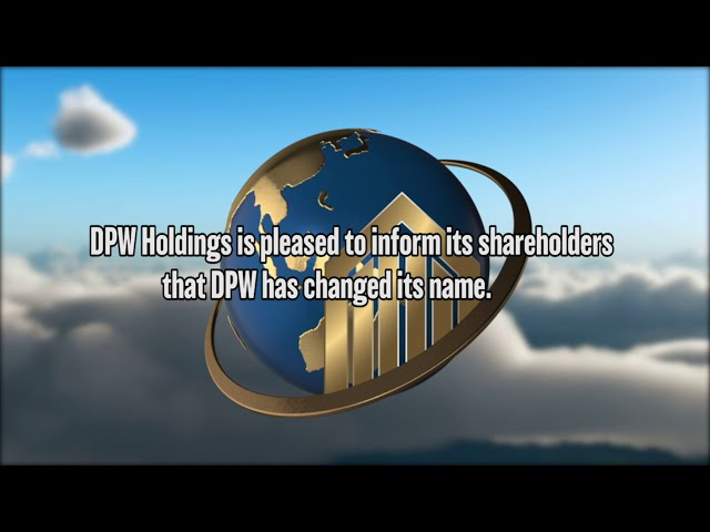 DPW Holdings ($DPW) Changes its name to Ault Global Holdings Inc.