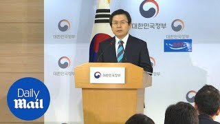 South Korean President calls North Korea missiles imminent threat - Daily Mail