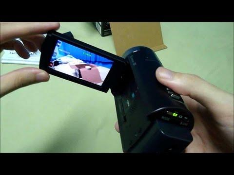 DEMONSTRAÇÃO: Sony Handycam HDR-CX350 (Pt-Br)