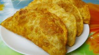 Чебуреки на коньяке, цыганка готовит. Самые сочные и хрустящие чебуреки. Gipsy cuisine.🍷🌮