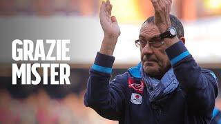 Maurizio Sarri lascia Napoli, in bocca al lupo Comandante, continua a fare la rivoluzione nel mondo