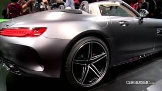 Mercedes - AMG GT Roadster: en direct du Mondial de Paris 2016