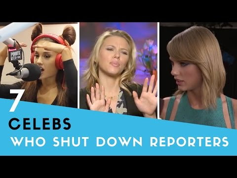 7 Times Celebs SHUT DOWN Rude Reporters!
