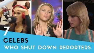 7 Times Celebs SHUT DOWN Rude Reporters! | Hollywire