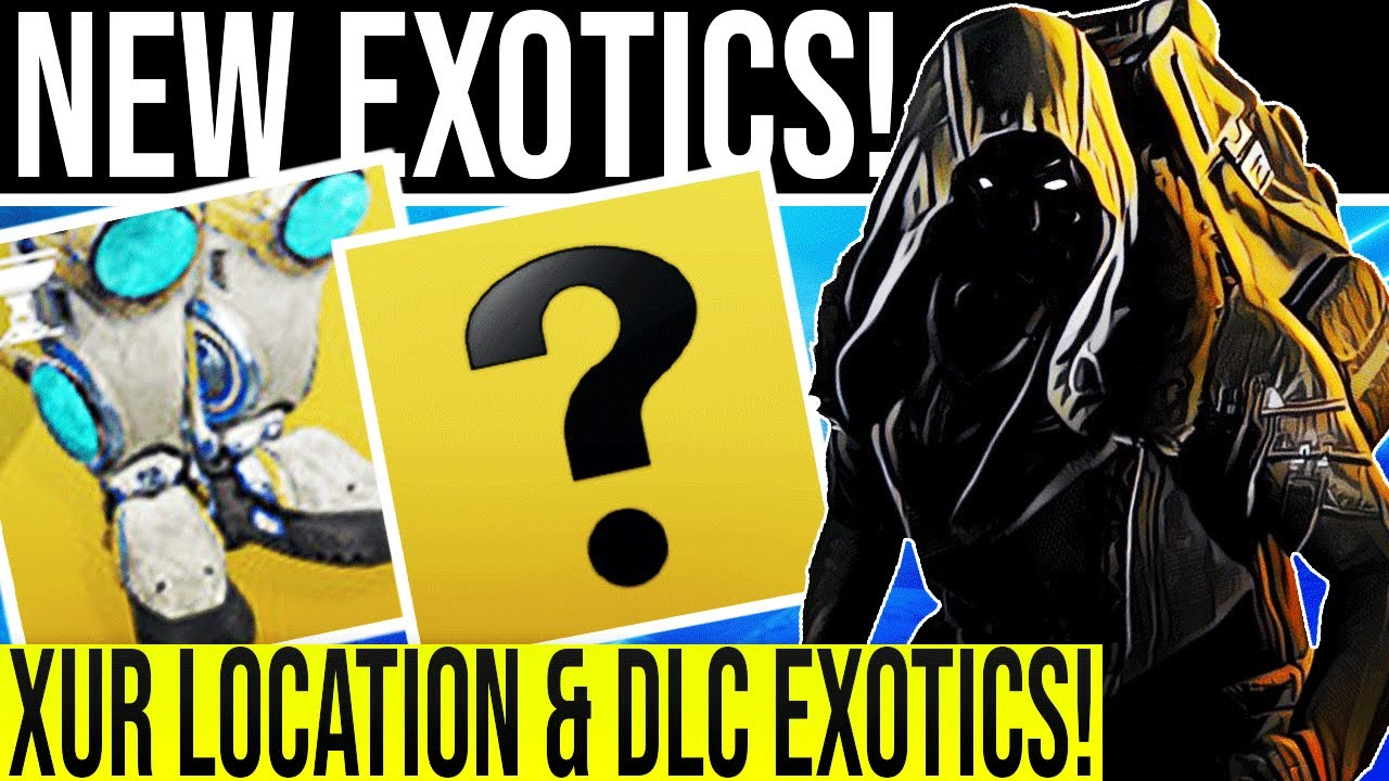 Destiny 2. XUR LOCATION/DLC EXOTICS August 7, 2020! NEW Random Rolls! 8-7-2020 |Mesa Sean|
