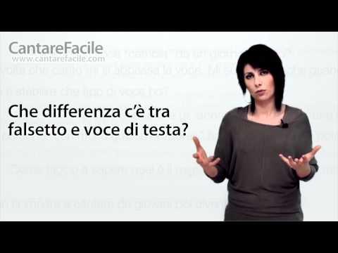 Che differenza c'è tra falsetto e Voce di testa? - Domande sul Canto #16