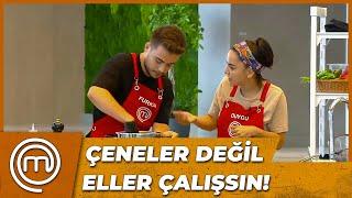 FURKAN İLE DUYGU ARASINDA TARTIŞMA! | MasterChef Türkiye 33. Bölüm