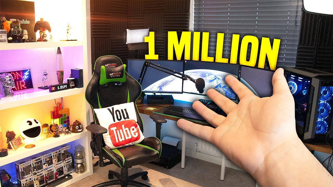 MY DREAM GAMING/YOUTUBE SETUP - 1 Million Subscribers Special (Giveaway)